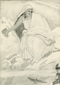 Image of Cailleach, the old Hag of Winter